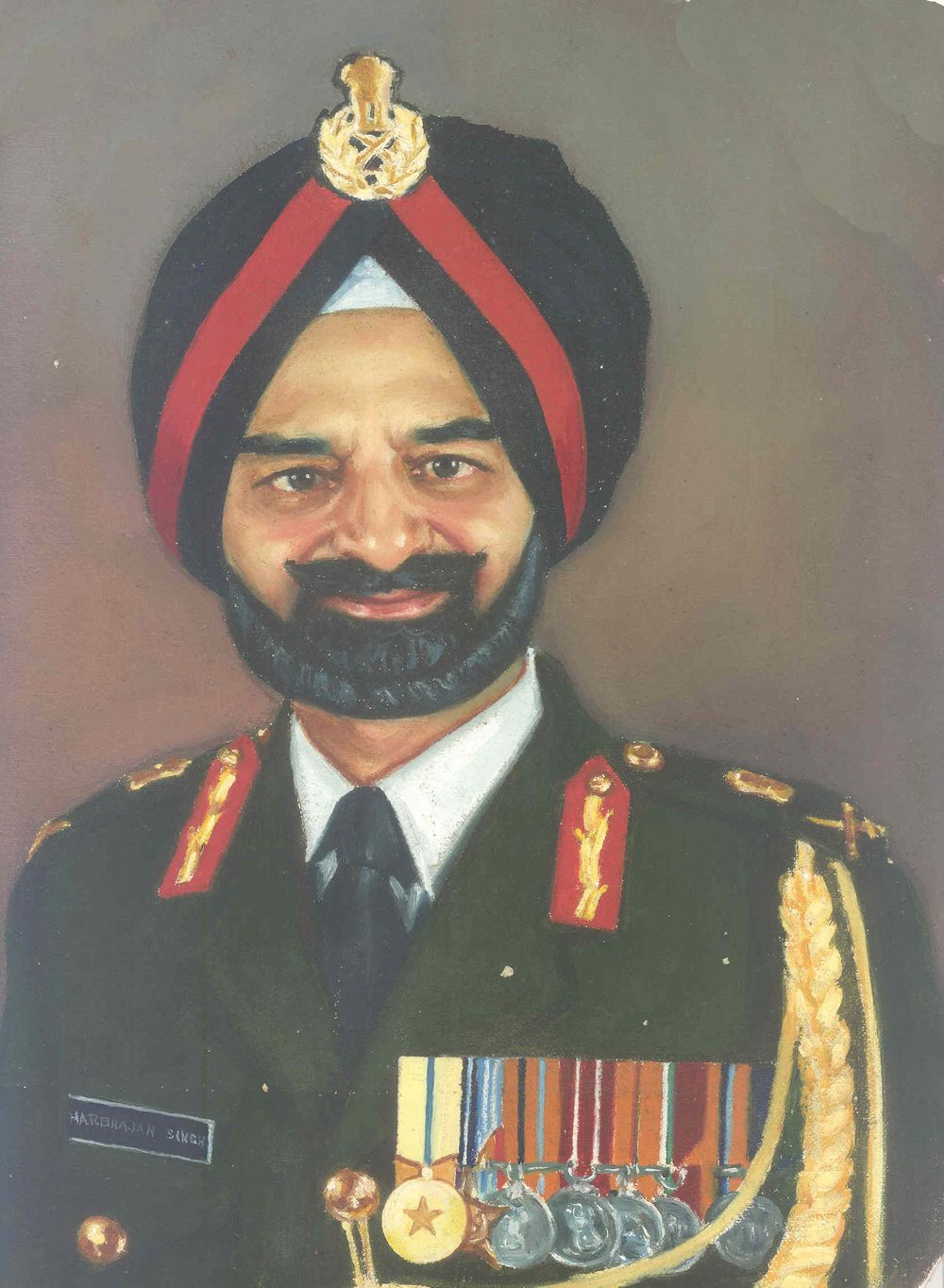 Lieutenant General Harbhajan Singh, PVSM, ex-SO-in-C (1st Course JSW/NDA)
