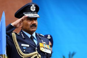Letter From COSC Air Chief Marshall Arup Raha