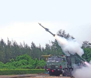 India Successfully Test-Fires Quick Reaction Surface to Air Missile Air Defence System